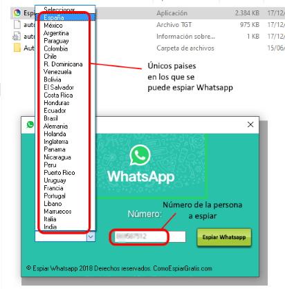 aplicación para espiar whatsapp